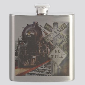 SQU Train Collage Flask