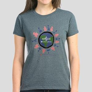 Teach Tolerance (1) Women's Dark T-Shirt