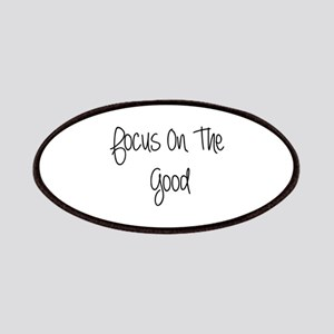 Focus On The Good Quote Patches