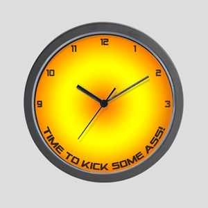 Time to kick some ass! Wall Clock