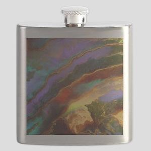 Abalone Sunset Flask