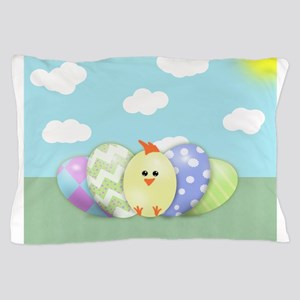 Easter Chick (sb) Pillow Case