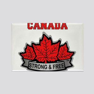 Canadian Pride STRONG & FREE Magnets