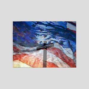 Cross Glory 5'x7'Area Rug