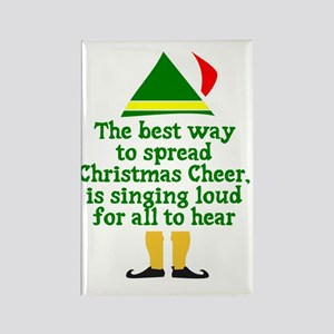 Christmas Cheer Rectangle Magnet