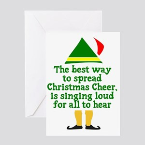 Christmas Cheer Greeting Card