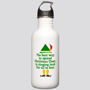Christmas Cheer Stainless Water Bottle 1.0L