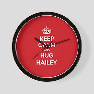 Hug Hailey Wall Clock