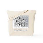 Keeshond (Beth) Tote Bag