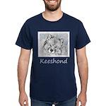 Keeshond (Beth) Dark T-Shirt