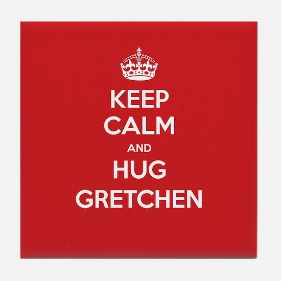 Hug Gretchen Tile Coaster