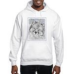 Keeshond (Beth) Hooded Sweatshirt