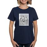 Keeshond (Beth) Women's Dark T-Shirt