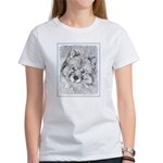 Keeshond (Beth) Women's Classic White T-Shirt