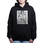 Keeshond (Beth) Women's Hooded Sweatshirt