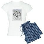 Keeshond (Beth) Women's Light Pajamas