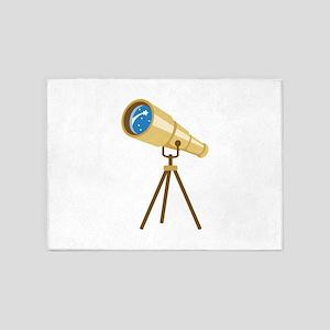 Stargazer Portable Telescope 5'x7'Area Rug