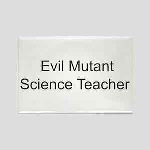 EM Science Teacher Rectangle Magnet