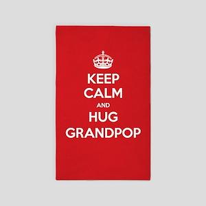Hug Grandpop 3'x5' Area Rug