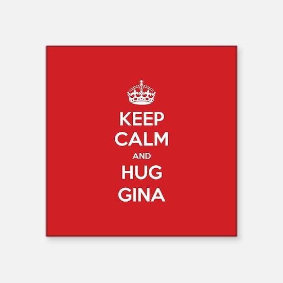 Hug Gina Sticker