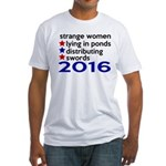 Distributing Swords 2016 Fitted T-Shirt