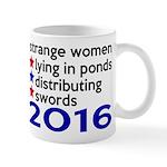 Distributing Swords 2016 Mug