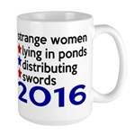 Distributing Swords 2016 Large Mug