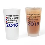 Distributing Swords 2016 Drinking Glass