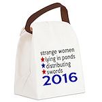 Distributing Swords 2016 Canvas Lunch Bag