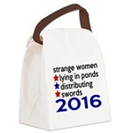 Distributing Swords 2016 Canvas Lunch Bag