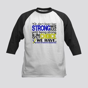 DS How Strong We Are Kids Baseball Jersey