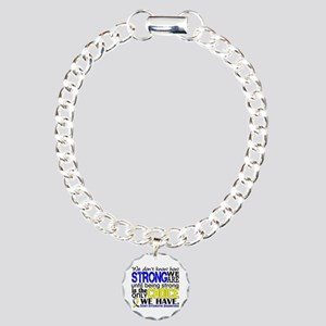 DS How Strong We Are Charm Bracelet, One Charm