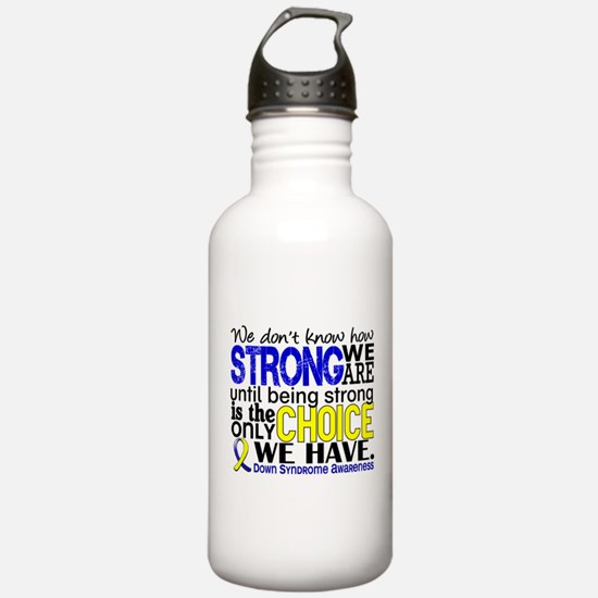 DS How Strong We Are Water Bottle