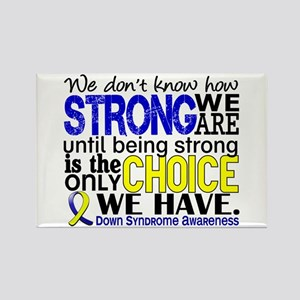 DS How Strong We Are Rectangle Magnet