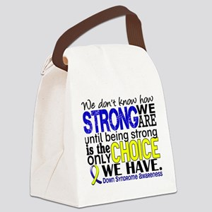 DS How Strong We Are Canvas Lunch Bag