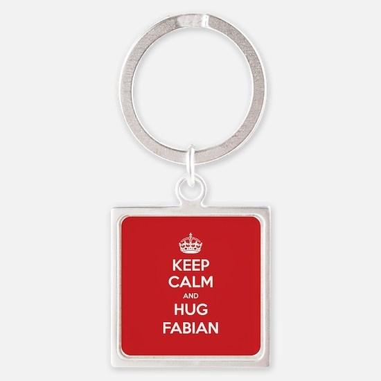 Hug Fabian Keychains