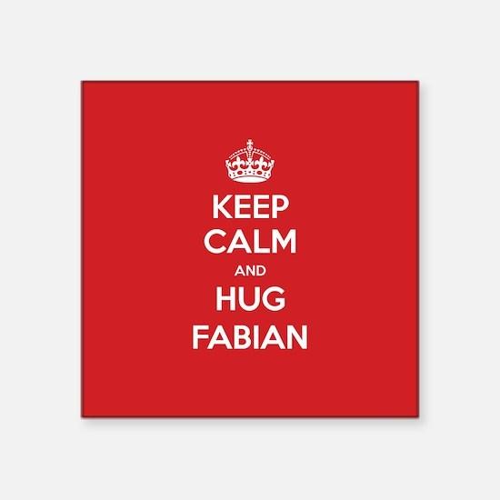 Hug Fabian Sticker