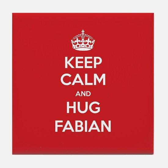 Hug Fabian Tile Coaster