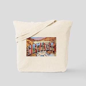 Nevada Greetings Tote Bag