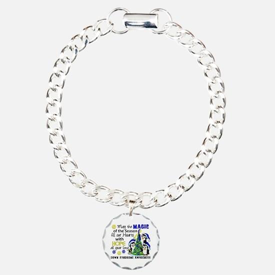 DS Christmas Penguins Bracelet