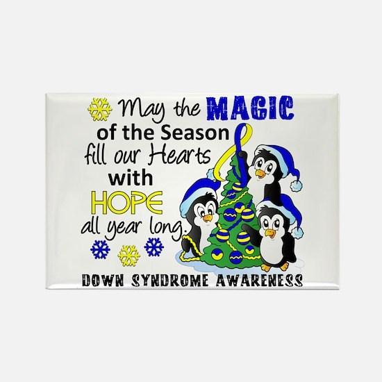DS Christmas Penguins Rectangle Magnet (100 pack)