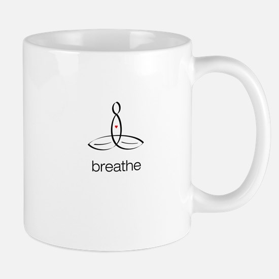 Meditator - Breathe - Mug