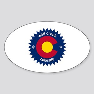 wolf creek Sticker