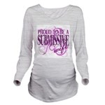Submissive Wife T-S Long Sleeve Maternity T-Shirt