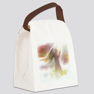 In the Clouds Canvas Lunch Bag