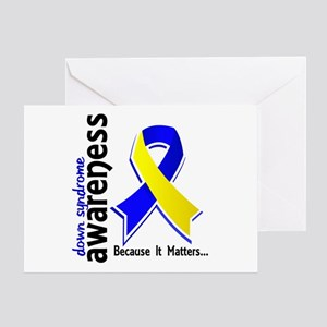 DS Awareness 5 Greeting Card