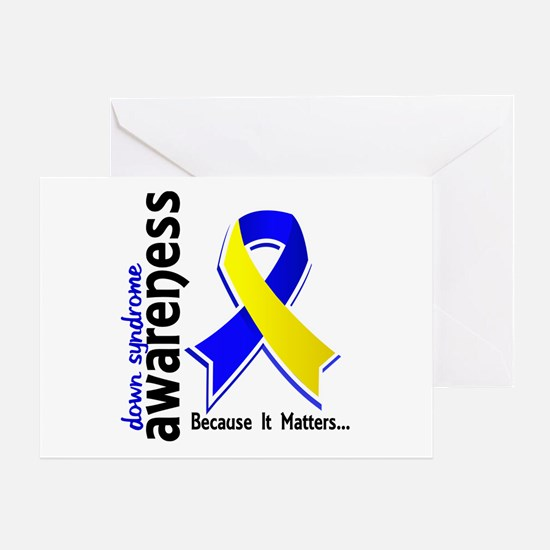 DS Awareness 5 Greeting Card