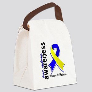 DS Awareness 5 Canvas Lunch Bag