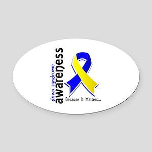 DS Awareness 5 Oval Car Magnet
