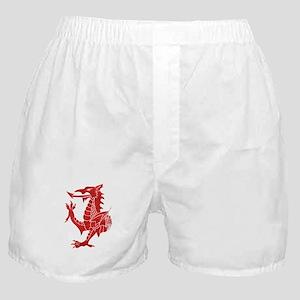 Welsh Dragon Rampant Boxer Shorts